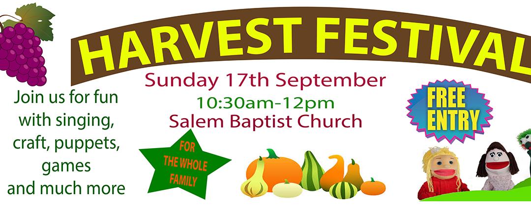 Harvest festival report