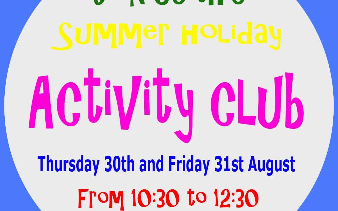 Summer Activity Club