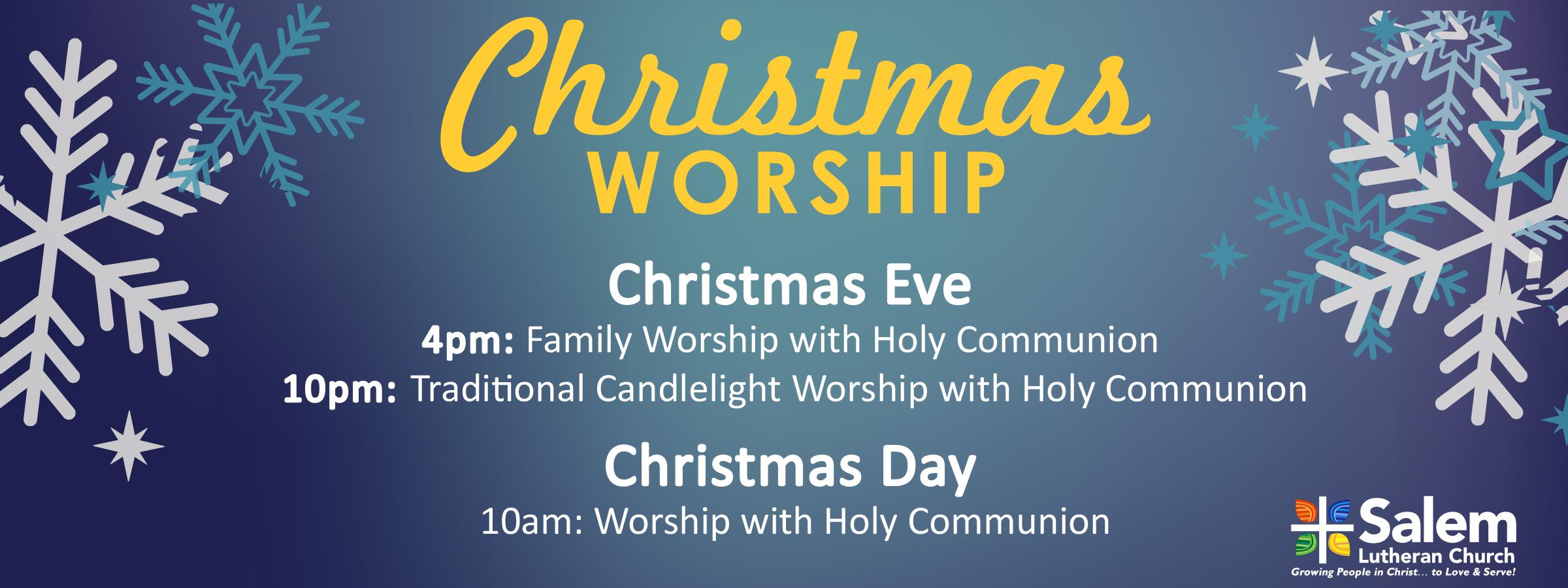 Christmas Worship 2018