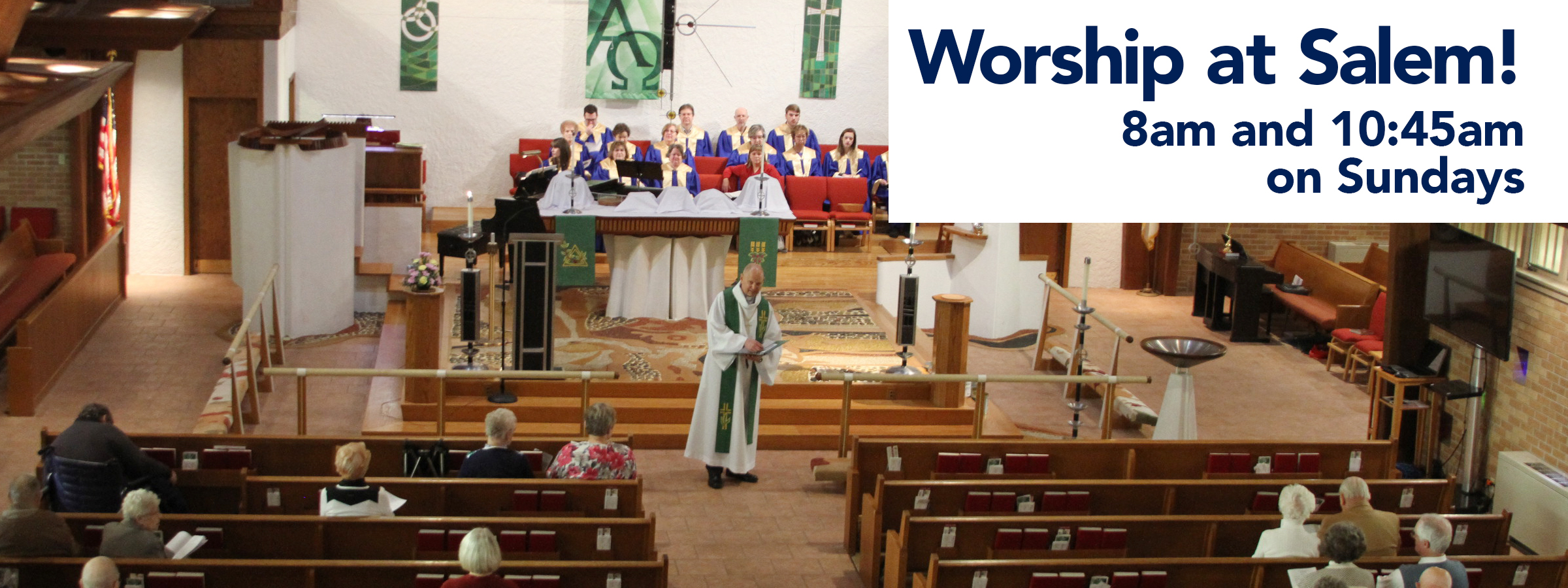 Worship on Sundays at Salem