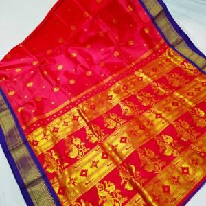 Tana Silk Paithani Semi Maharani Saree Design (Range-3)
