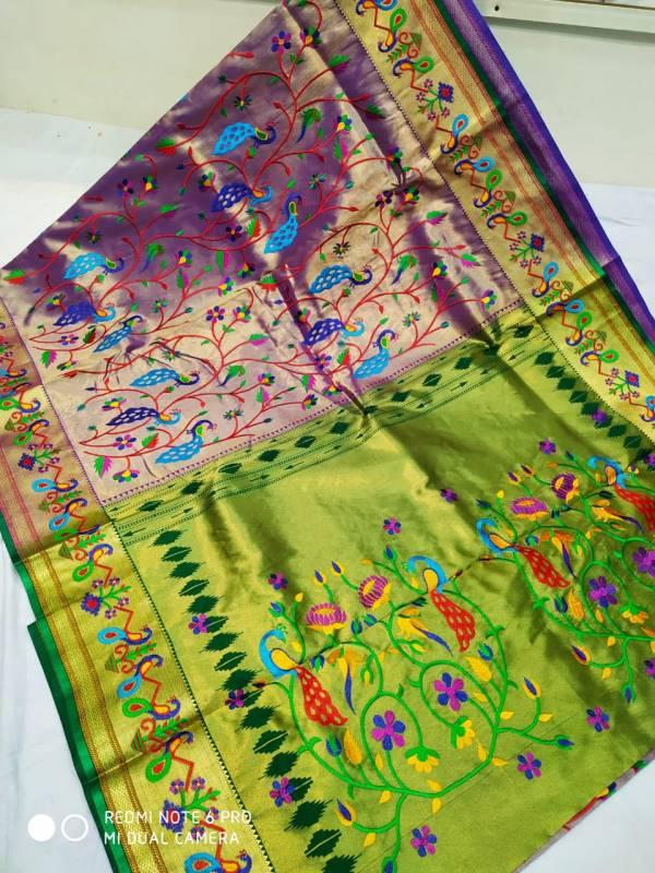 Full shahi brocade Paithani