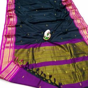 Irkal Sico Soft Cotton Silk Paithani Saree (Range-3)