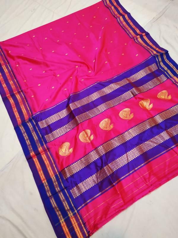 narayanpeth pure silk paithani