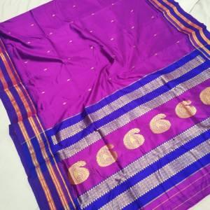 Pure Narayanpeth Silk Paithani Saree (Range-2)