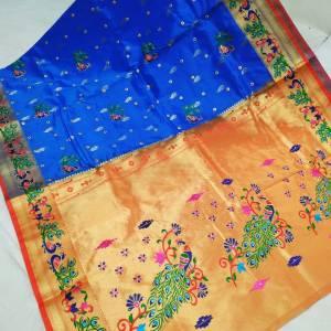 Designer Rich Pallu Brocade Paithani Saree