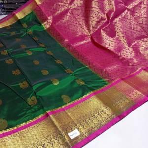 Art Silk Designer Mhalsa Paithani Saree