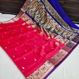 Pure Silk Peshwai Paithani Saree