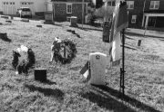 The grave of Pvt. David A. Hoskins.