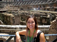 My First Time at the Colosseum in 2009.