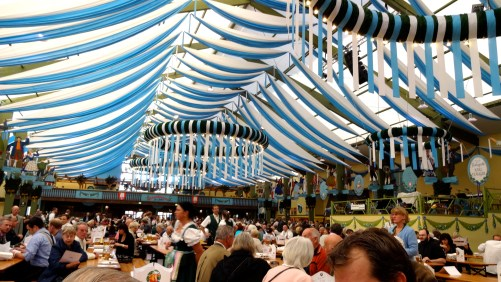 Inside the Beer Hall.