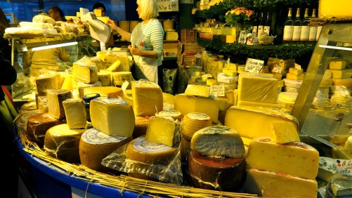 Cheese Stand.