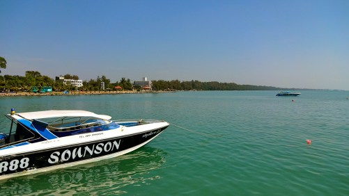 On Our Way to Koh Samet Island.