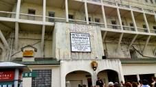 Alcatraz Penitentiary.