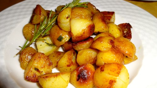 Roasted Potatoes with Herbs (8/10).