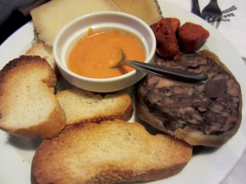 Mixed Meat and Cheeses.