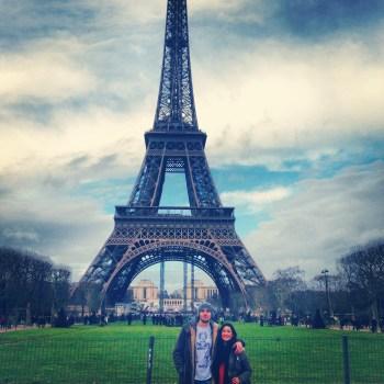 Enjoying Paris with My <3.