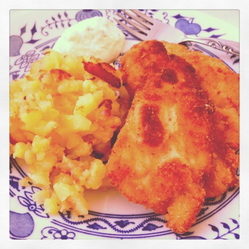 Traditional Czech Lunch at Grandmas.