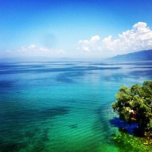 Lake Ohrid.