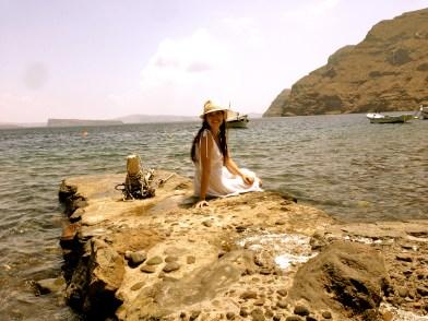 Thirasía Island.
