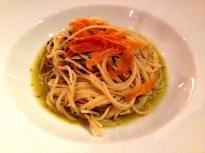 Spaghetti with Bottarga.