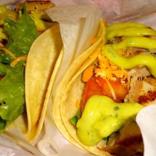 Ahi Tuna Tacos.