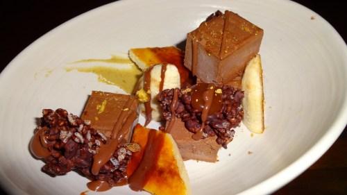 Frozen Chocolate Mousse with Banana Brûlée (7/10).