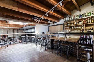 Upstairs Bar Area.