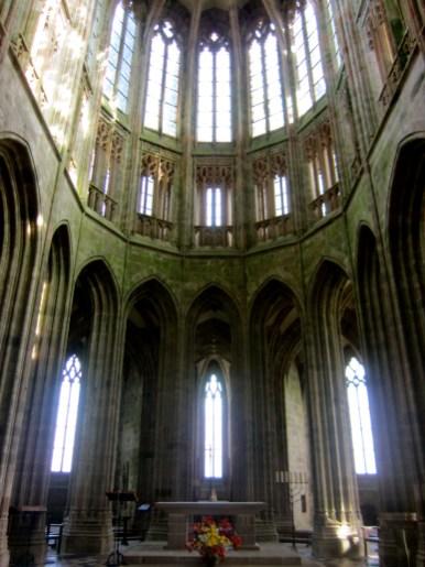 Mont Saint-Michel Church Abbey.