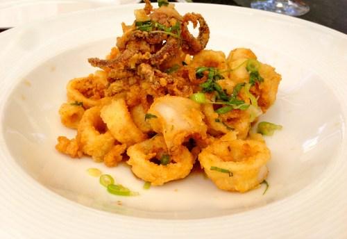 Fried Calamari (6.5/10).