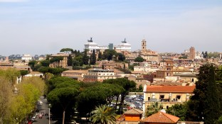 View of Rome.