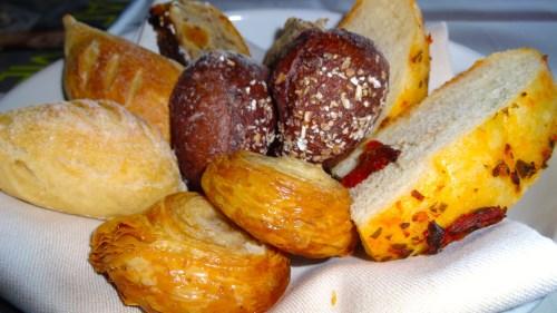 Assortment of Breads (8/10).