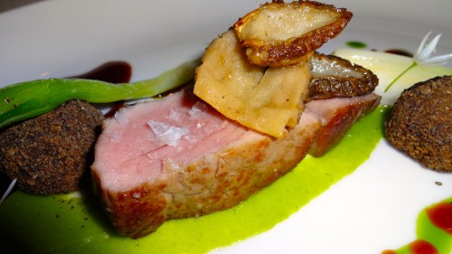 Close Up of the Veal.
