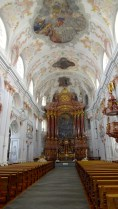 Inside Jesuitenkirche.