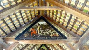 Plague Paintings on the Spreuerbrücke.
