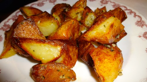 Roasted Potatoes (8/10).