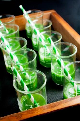 Cucumber and Lemon Verbena Soda.