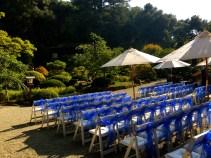 Ceremony at Hakone Estate and Gardens.