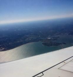 Landing into Boston.