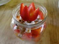 Fruit Bowl with Yogurt.