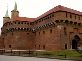 Kraków Barbican.