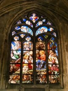 Inside Saint-Nizier Church.