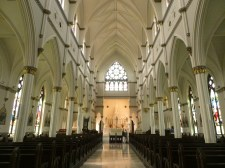 Inside Cathedral of Saint John the Baptist.