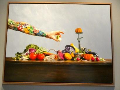 Artwork at the Vendue.