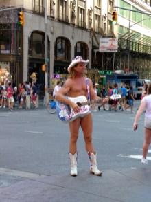 Naked Cowboy.