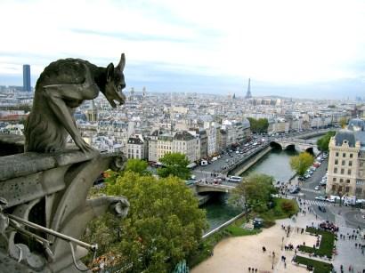 View from Notre Dame de Paris.