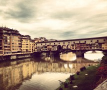 Ponte Vecchio During the Fall.