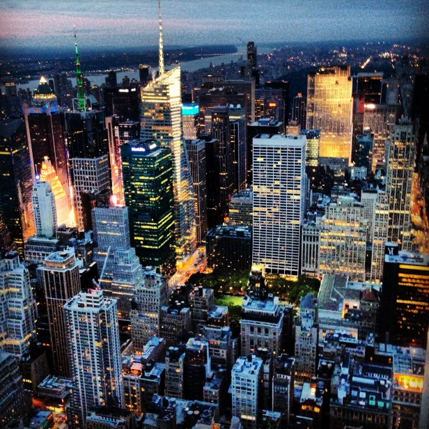 Amazing View of NYC from the Empire State Building.