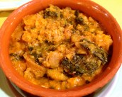 Ribollita, Tuscan Bean and Kale Soup.