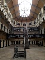 Exploring Kilmainham Gaol Prison.